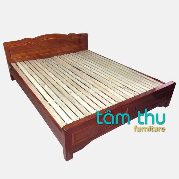 giường ngủ gỗ sồi ms-1