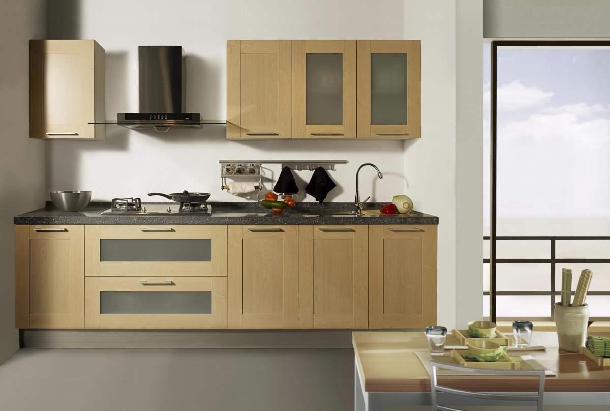 Thiết kế tủ bếp gỗ công nghiệp