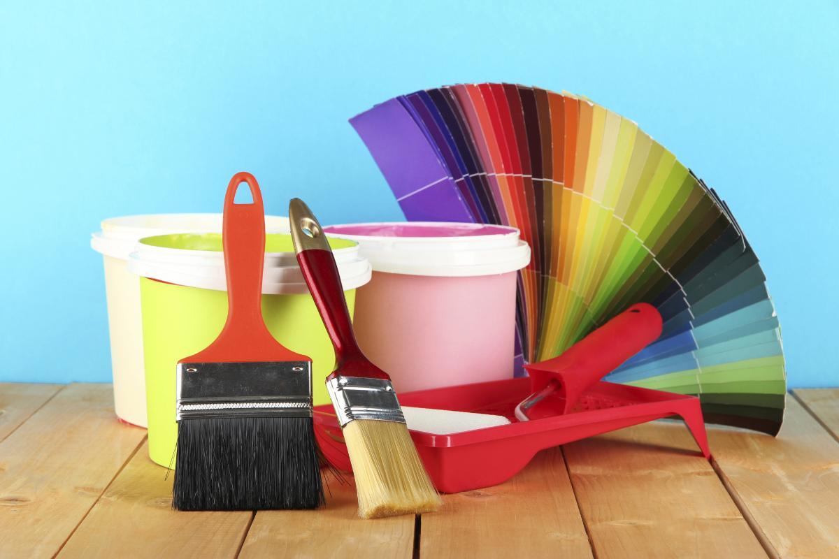 Lựa chọn màu sắc cần sơn
