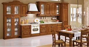 Tủ bếp gỗ xoan đào sang trọng